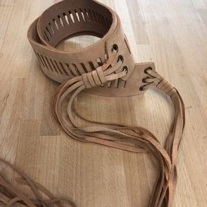 Leather Boho/Festival Belt